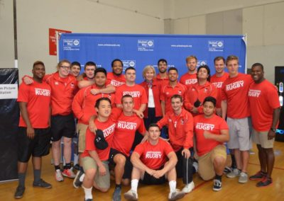 The team with Congresswoman Lois Capps